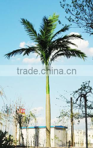Home garden edging decorative 5ft to 16ft Height outdoor artificial green plastic palm trees EDS06 0844
