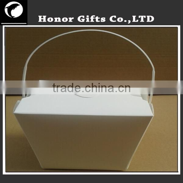 Custom Printed Paper Food Box, Disposable Noodle Box