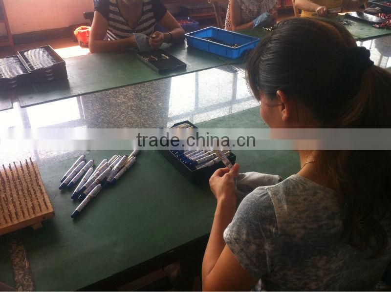 Good Quality Classical Leather Promotion Pen Metal Ball Pen