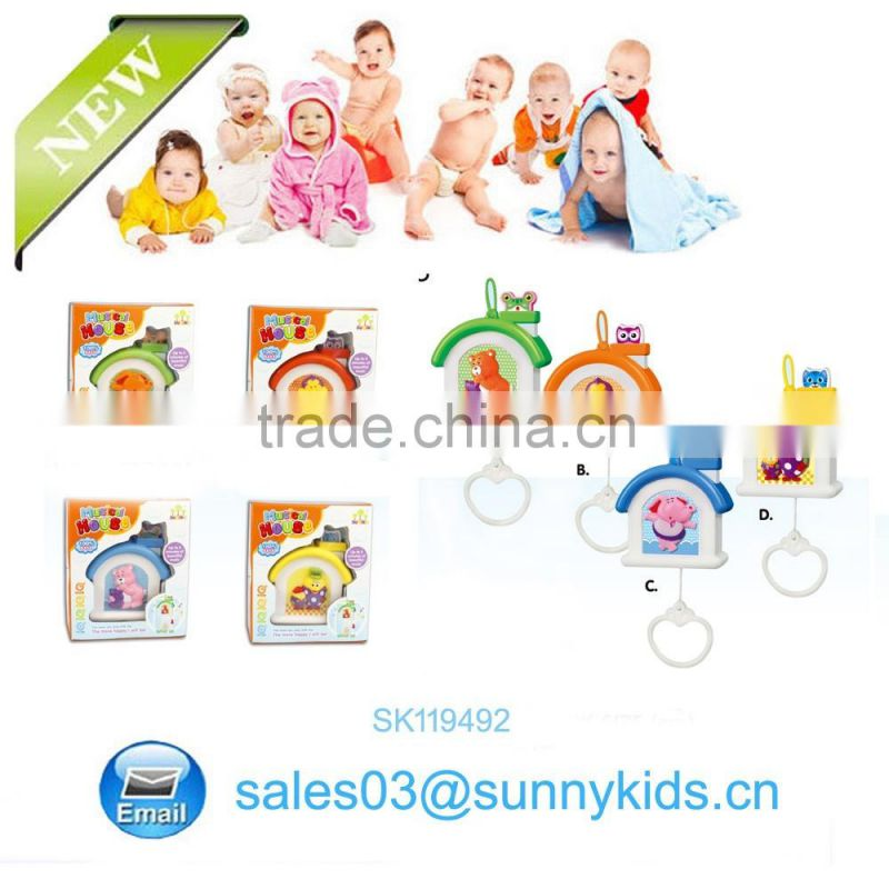 2016 Newest multi-functional musical plastic mini baby small toy house