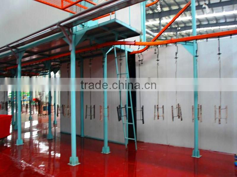 Economical Environmental Health Electrostatic Powder Coating Line