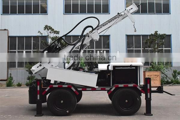 Your best choice , High Efficiency ! HF510T machine for water well drilling