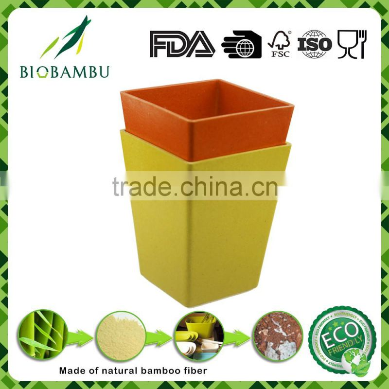 Pro-environment China Supplier bamboo flower pots for garden