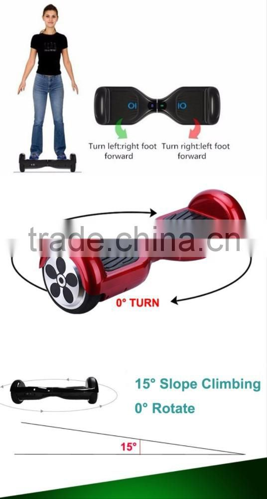 Hoverboard new model,balance scooter 2 wheels with LED light