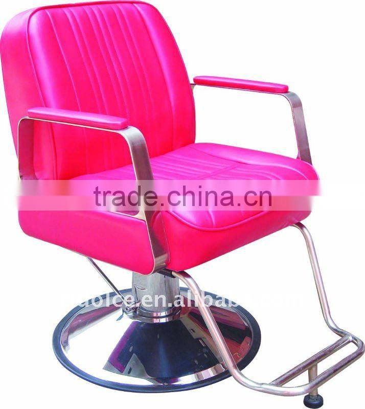 Round Base Modern Hydraulic barber chair hair cutting chairs with pedal wholesale barber supplies F-TKSS11