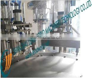 laundry detergent pouch filling and sealing machine