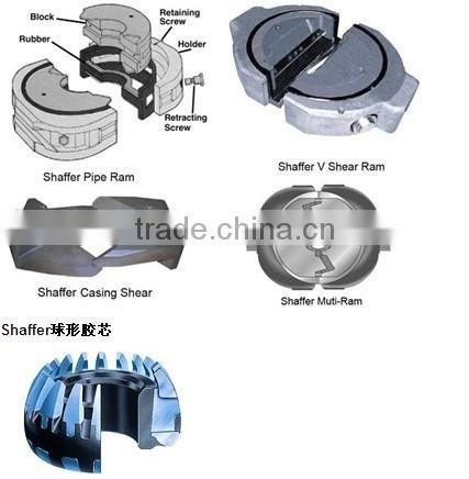 Electric Hydraulic Pump >> Shaffer BOP elements and BOP spare parts,Pipe Ram, V Shear