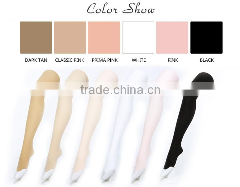 D004816 Wholesale nylon feet tube pantyhose tights for women with hole