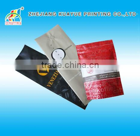 Customized High Quality Coffee Bag one Way Valve, Coffee Bag with Valve, Coffee Bag