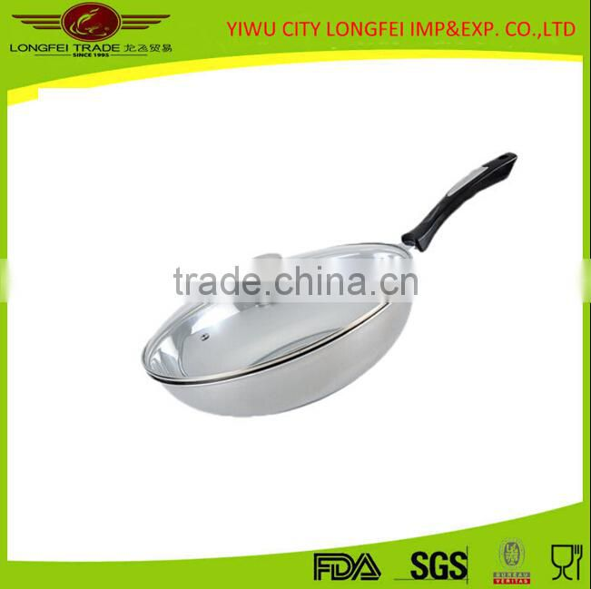 Hot China Products Wholesale Aluminum Tensile Wok