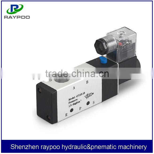 airtac 5/2 solenoid valve pneumatic valve for shopping bag making machine