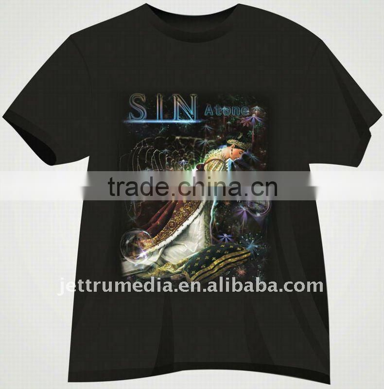 Dark color heat transfer 300gsm T-shirt Transfer Paper for laser and inkjet printer