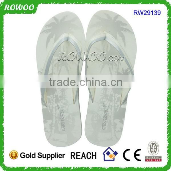 White and Green Low Price Ladies Sandals Girl Latest Flat Sandals