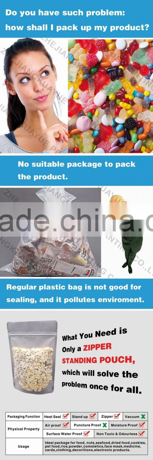 Customized High Quality Coffee Bag, Coffee Bag with Valve, Coffee Packaging Bags -- ISO/EU/FDA Approved!!