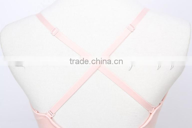 D004788 Dttrol pink sleeveless wholesale dance cotton spandex gymnastics leotards