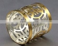 heart shape shiny napkin ring for sale