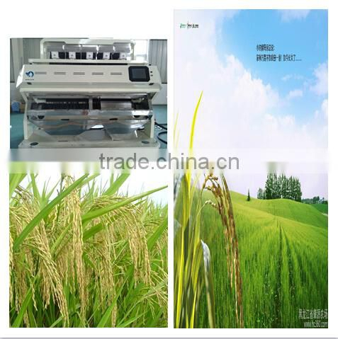 2048 Pixel Camera Rice Color Sorter with high sorting accuracy