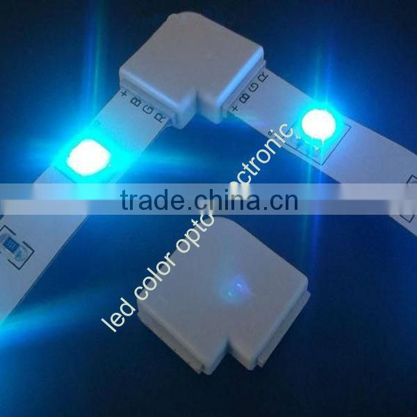 new design solderless led strip corner