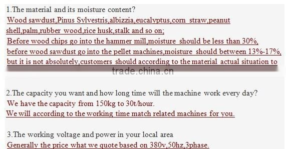 Industrial Wood Pellet Mill Type Sawdust Wood Pellet Machine