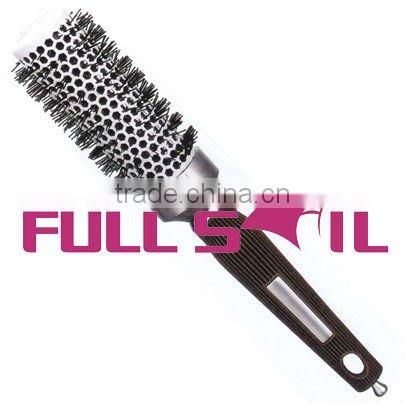 Ceramic barrel hair brush