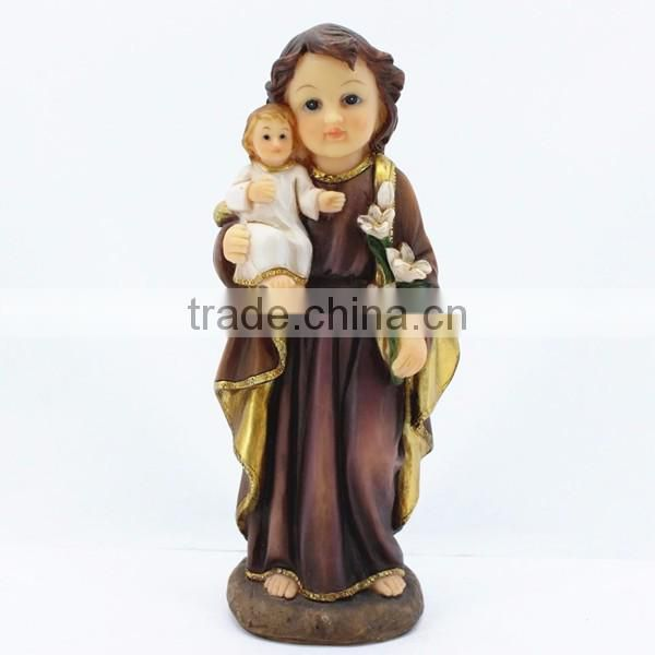 Custom wedding decorations polyresin angel statue
