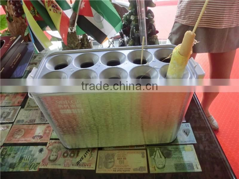 10 tubes Factory directly electric egg roll toaster machine, egg roll biscuit machine