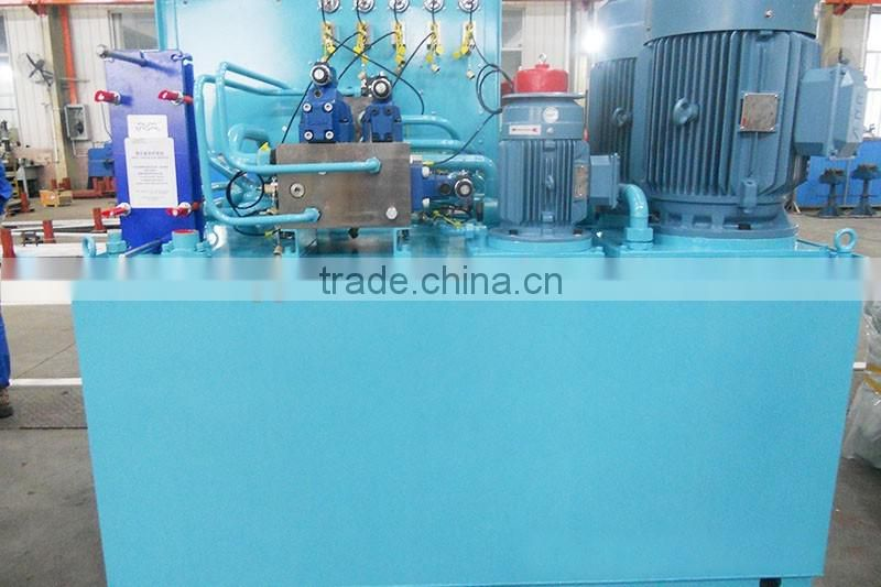 Cement products machinery hydraulic power pack