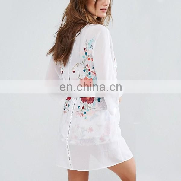 Alibaba china lady pajama one piece with floral embroidery sex sleepwear