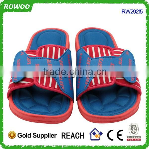 Pu upper Casual Slippers Mens Sandals Flip Flops Memory Foam Summer Slipper
