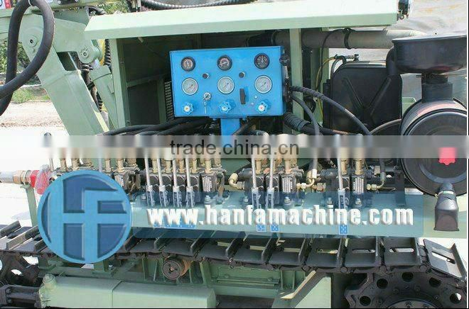 DTH drilling for blastin holes! HF100YA2 down the hole drill equipment