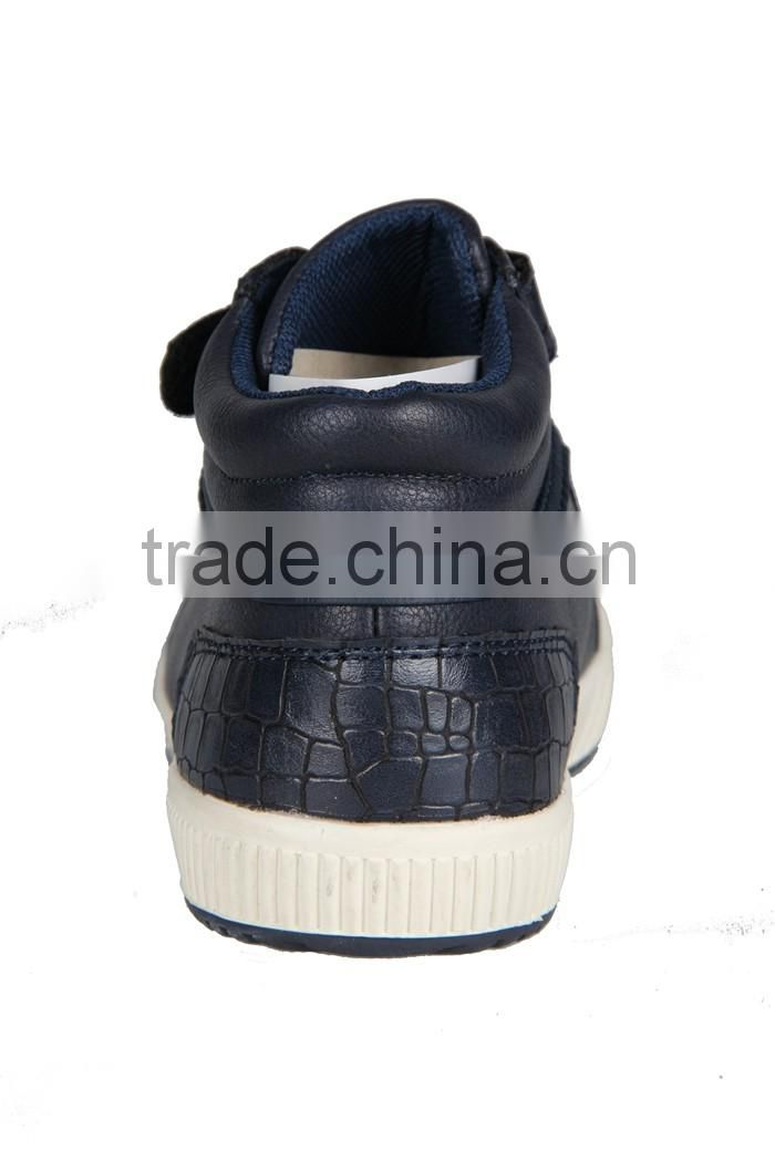 Export Quality PU Leather Ankle Boots Shoes For Boys Men Casual Shoes