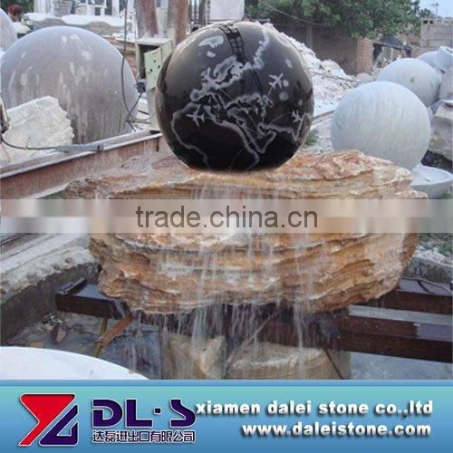 Rolling Ball Fountain