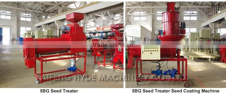 High efficent mobile seed treater