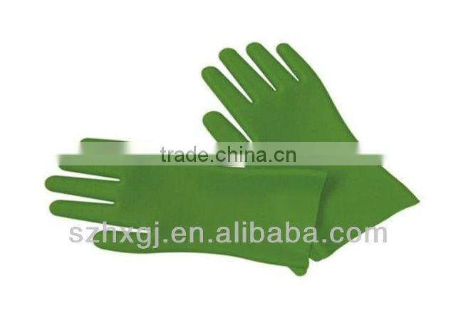 MA-34 2013 High-quality Heat-resistand FDA Standard Silicone Oven Gloves with Fingers