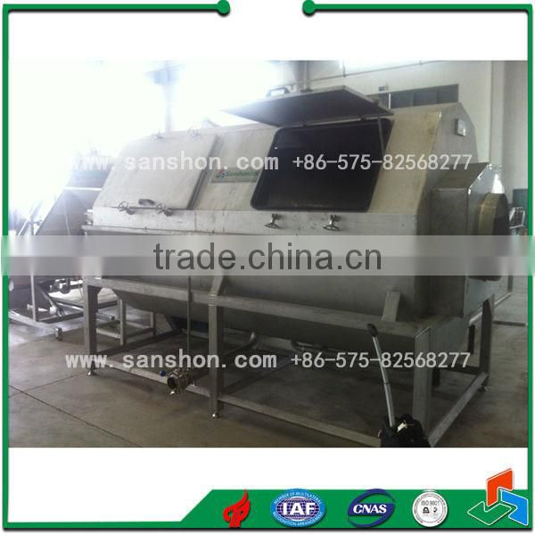 Fruit and Vegetable Cooking Machine Continuous Vegetable Blancher
