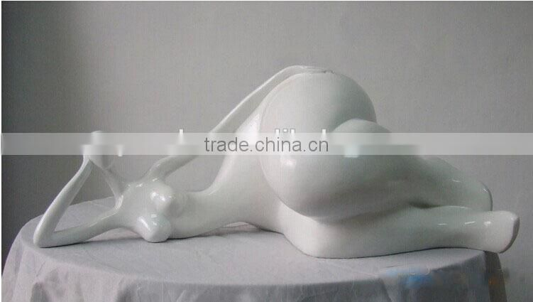 resin fat lady fat naked lady sculpture figure statue home art piece hotel decoration piece