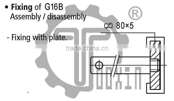 G16B Profile Side guides