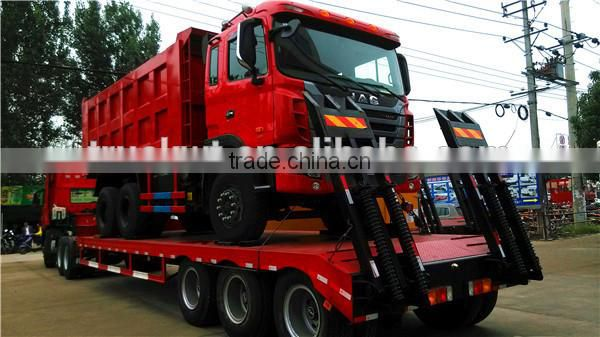 CLW 3 Axis 60ton Low Flatbed Semi Trailer for Sale