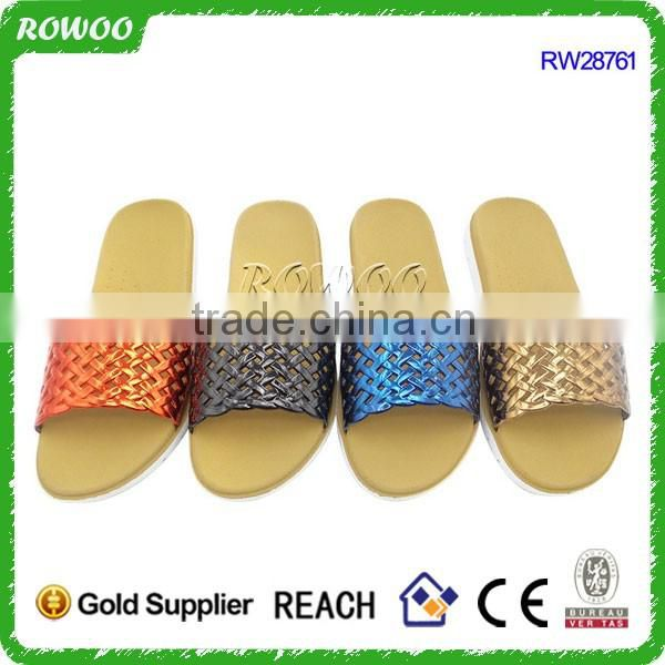 hot selling Durable cheap women EVA plastic bath slippers