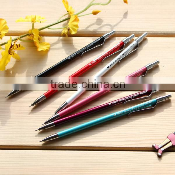 Slim korean mechanical pencils with eraser