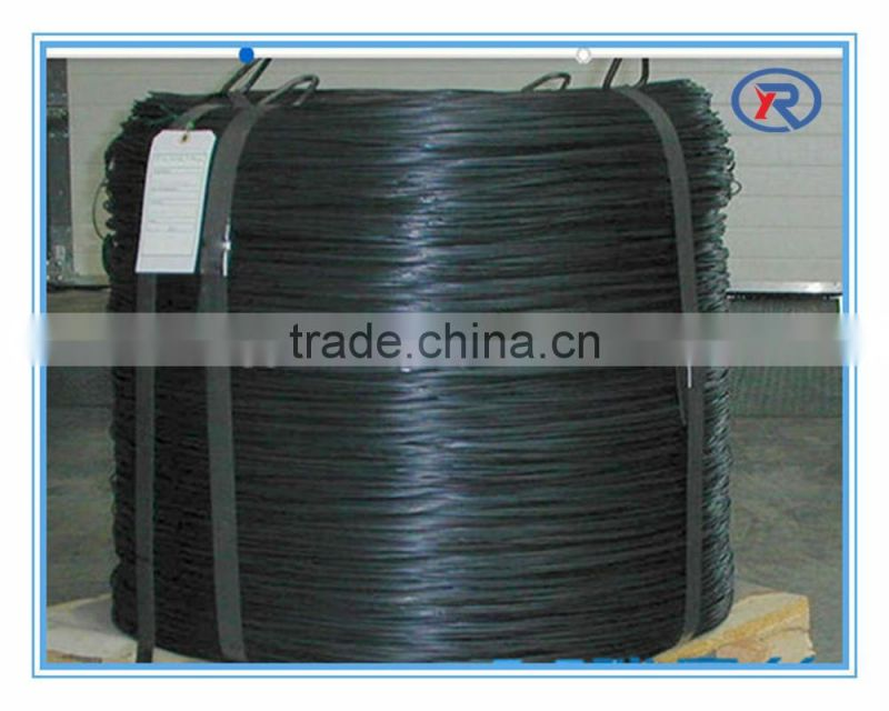 black annealed wire /soft annealed black wire/black annealed twisted wire china factory.