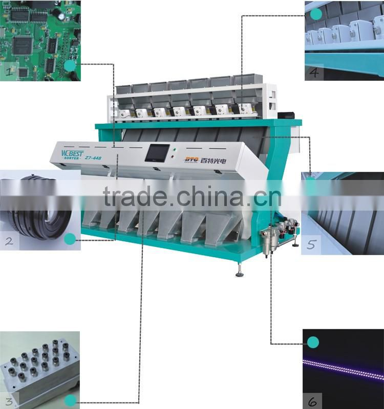 High Accuracy And Output Color Sorting Machine For Peanut