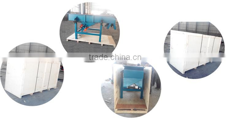 vibration sieve/separator after wire mesh Belt conveyor