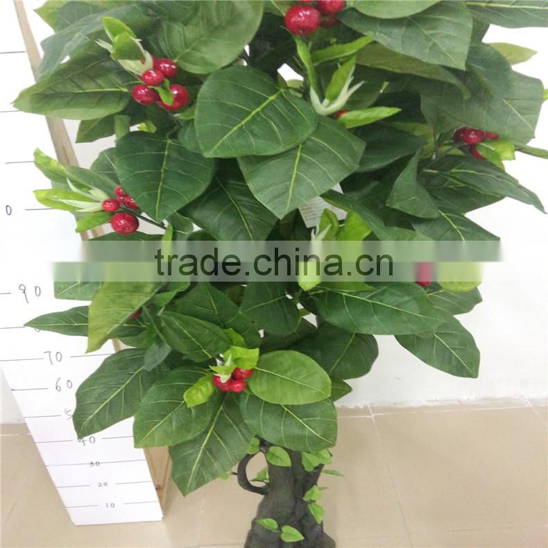 SJZJN 109 High quality Aritificial Rubber Fruit Tree Made in China Fashion Artificial Tree