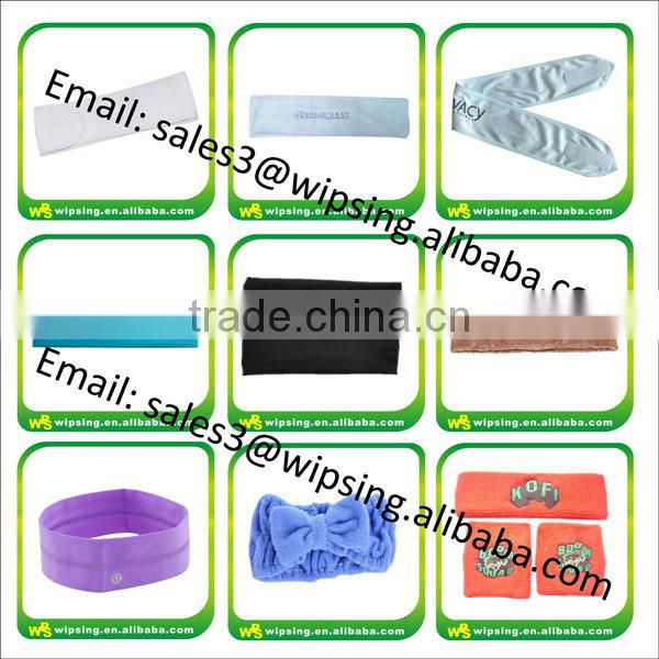 Shenzhen Factory Wholesale Nylon Headbands For Runners