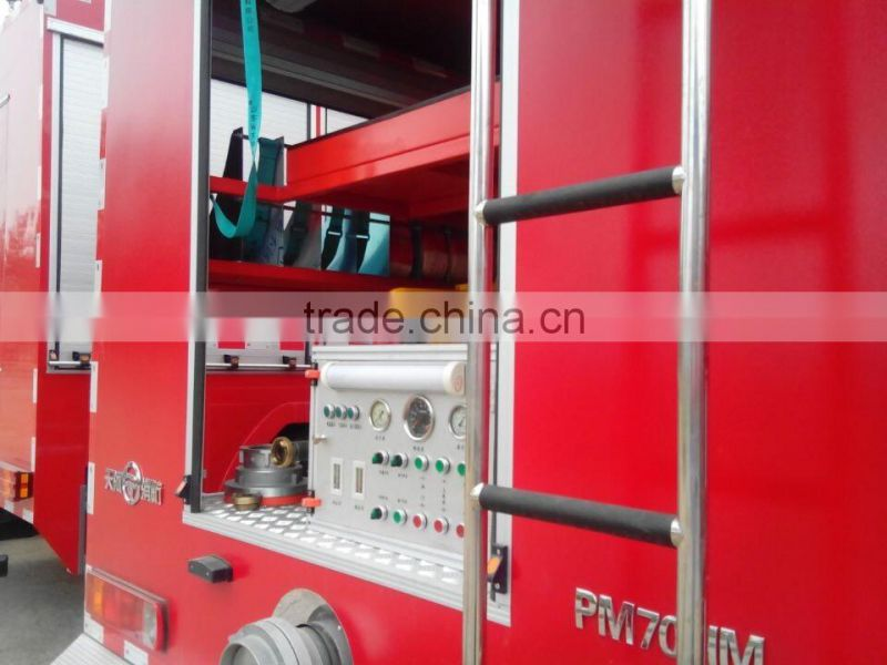 CNHTC HOWO 4X4 water tank howo fire truck China factory