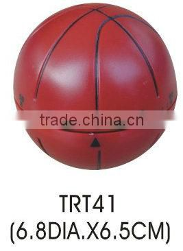 Plastic basketball shape kitchen sound timer/mechanical timer