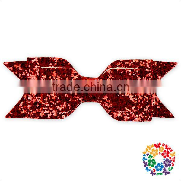 Wholesale Small Sequin Bow Tie Fairy Tale Hair Bow