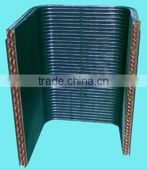Air conditioning aluminium fin heat exchanger
