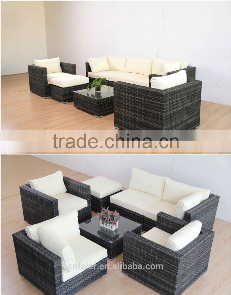 good quality round rattan sofa 1 set
